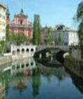 Tromostovje (the Triple Bridge), Ljubljana