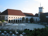 The Ljubljana castle, Ljubljana