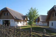 Panonska vas – straw roof cottages and apartments, Moravske Toplice