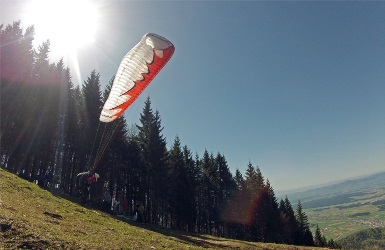 Skydiving in Slovenia